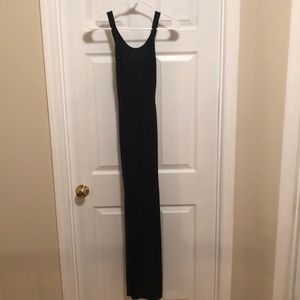 Express Black Maxi Dress Size Small